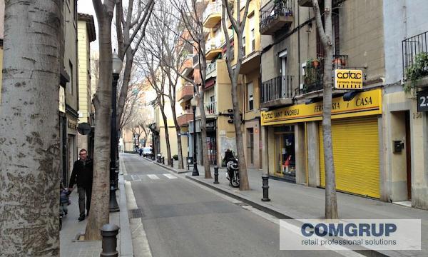 Locales en alquiler en barcelona comgrup locales - Barrio de sant andreu ...