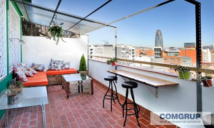 Barcelona zamora 95 atico 4 comgrup locales for Oficinas aguas de barcelona
