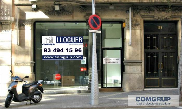 Barcelona pau claris 153 comgrup locales oficinas y for Oficina bicing barcelona