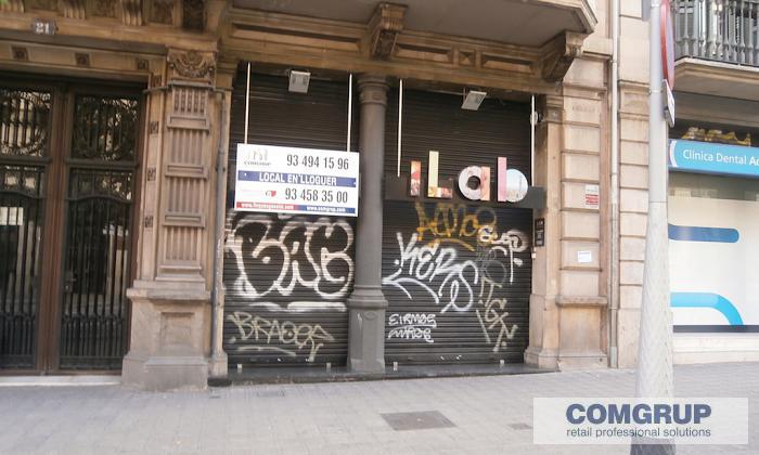 Barcelona balmes 21 comgrup locales oficinas y naves for Oficina bicing