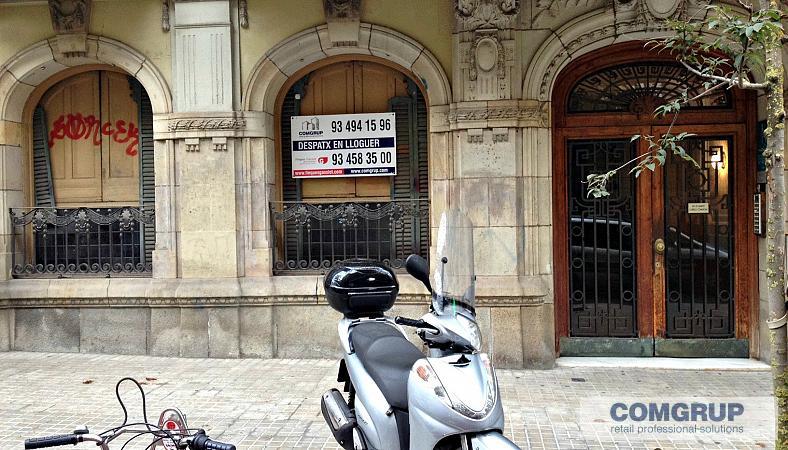Barcelona bruc 136 entlo 2 comgrup locales oficinas for Oficina bicing
